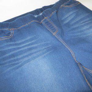 NWT JVINI Blue Jean Jeggings Size 1XL JV3969